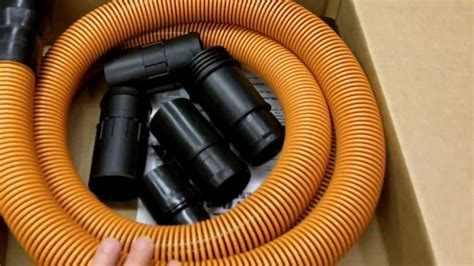ridgid shop vac  pro hose review youtube