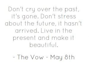 Jack Barakat Quote Don T Get Stressed Over The Little - the past is gone quotes quotesgram