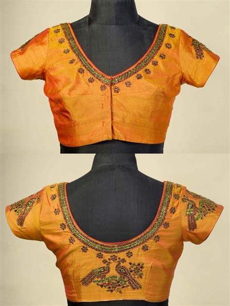 Blouse Top Bordir Bangkok embroidery designs for silk blouse makaroka
