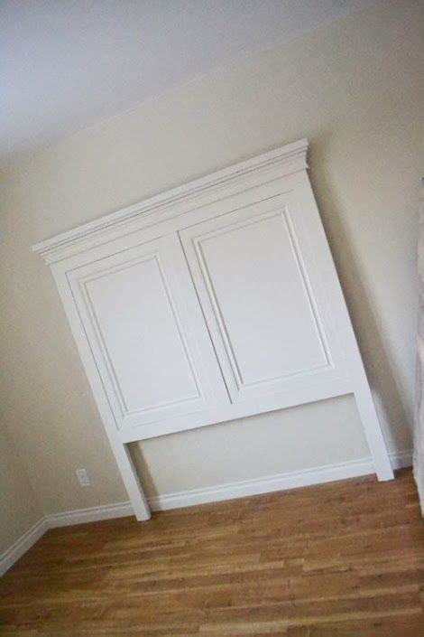 Diy Panel Headboard White Build A Panel Headboard Free And Easy Diy Project And Furniture Plans