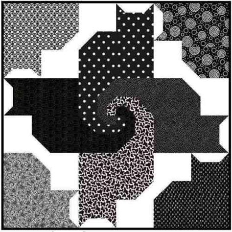 Patchwork Cat Quilt Block Patterns - 130 best images about quilt blocks animals on