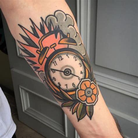 tattoo old school watch tatuagem bra 231 o rel 243 gio old school por sorry mom