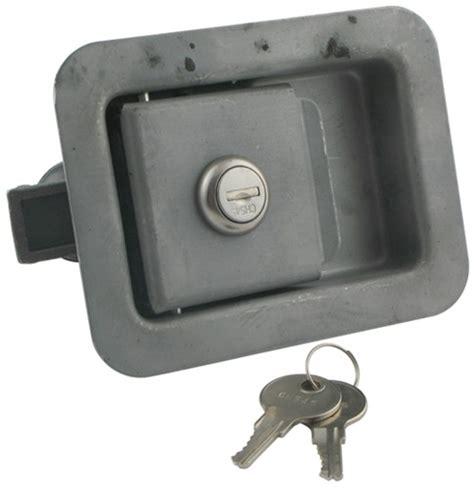 Trailer Door Latch by Quot Junior Quot Locking Steel Flush Door Latch With Inside