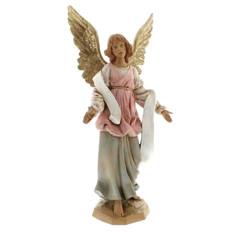 fontanini standing angel figurine 12 quot the catholic company