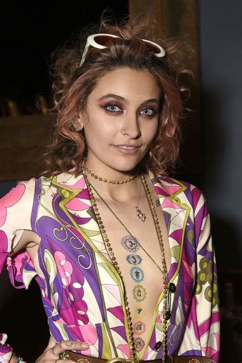 paris jackson at her birthday party at sbe s hyde sunset in la