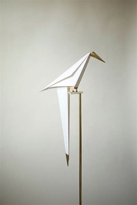 Origami Light - perch light origami bird l by umut yamac homeli