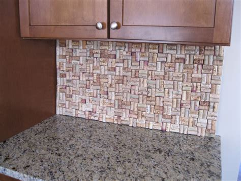 what glue to use for wine cork backsplash the hull