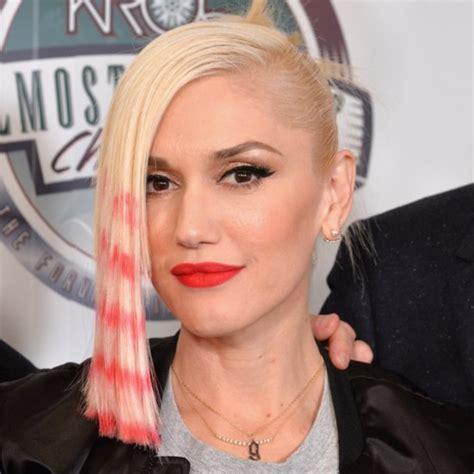 gwen stefani hair color hair color popsugar