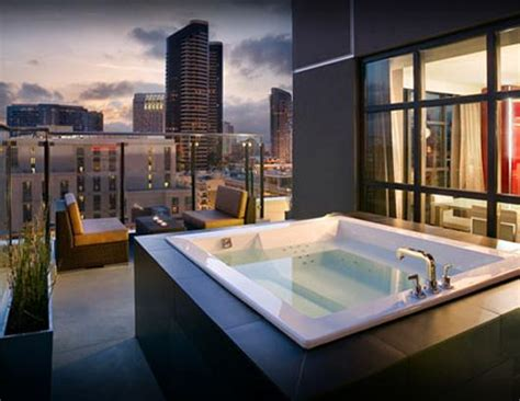 hotels with tubs in room san diego soaking in the wonders of the world abode