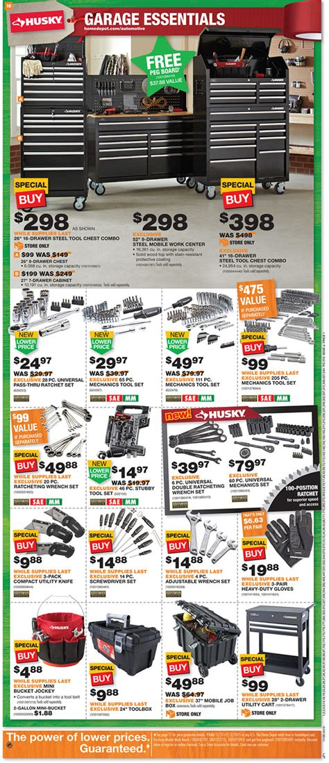 black friday tool cabinet deals black friday 2015 home depot