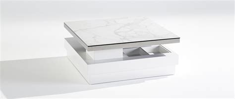 table basse sigma one table basse extensible plateau en
