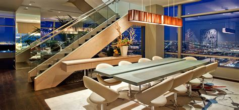 Modern Country Homes Interiors 51a duplex penthouse atop the ritz carlton residences in