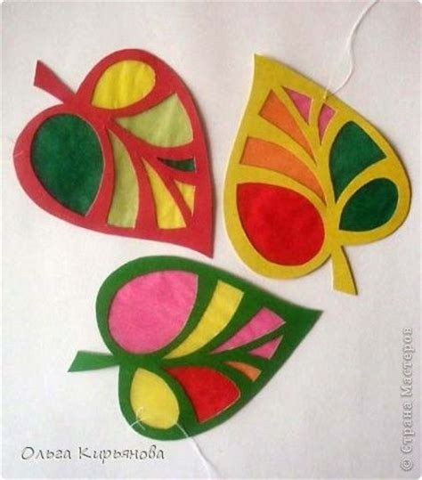 Herbstdeko Fenster Transparentpapier by Schnecken Form And Papier On