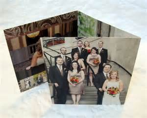 photo wedding thank you card unique folded cards 12