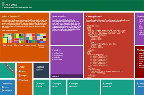 flexible layout js 20 most recent html5 tools and jquery plugins html5