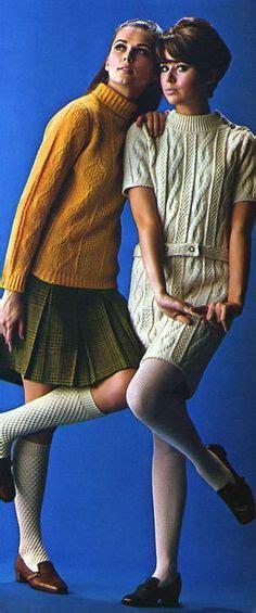 Cc Sweater 1968 seventeen magazine 1965 vintage fashion day dress shift