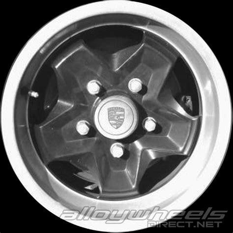 porsche cookie cutter wheels 15 quot porsche cookie cutter wheels in black with silver