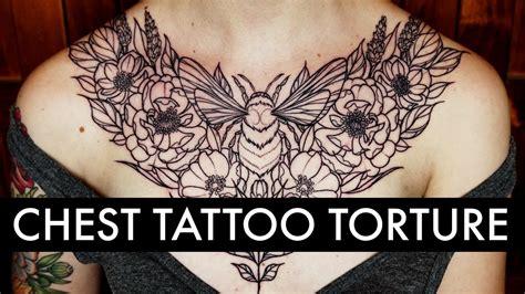 sternum tattoo pain chest tattoos hurt like a