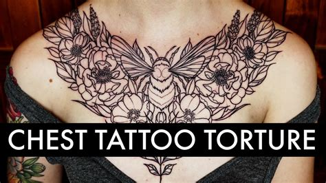 chest tattoo pain chest tattoos hurt like a