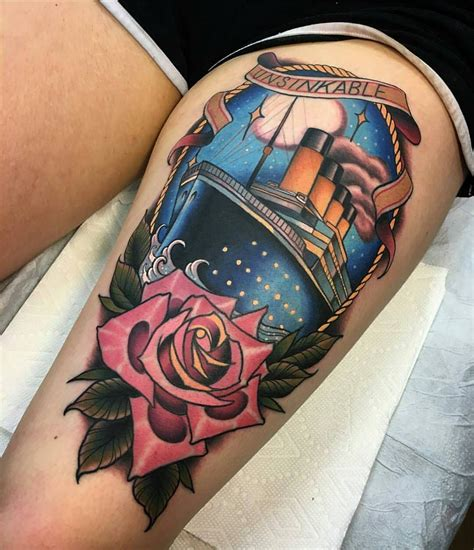henna tattoo manchester nh titanic by rb at bittersweettattoo in