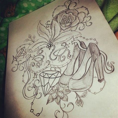 nice girly tattoo designs girly design as a coverup on back of neck