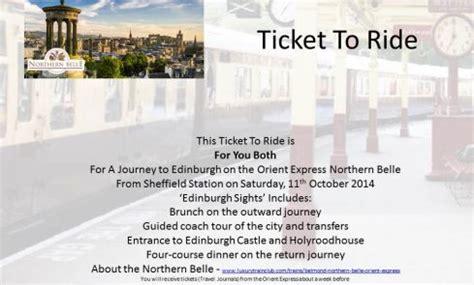 edinburgh tattoo orient express example ticket to ride edinburgh orient express northern belle