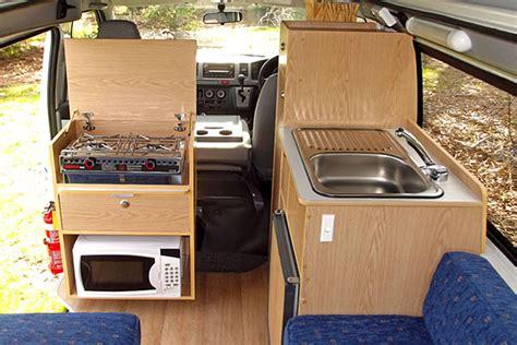 Very Small Kitchens Ideas suncamper sorrento campervan