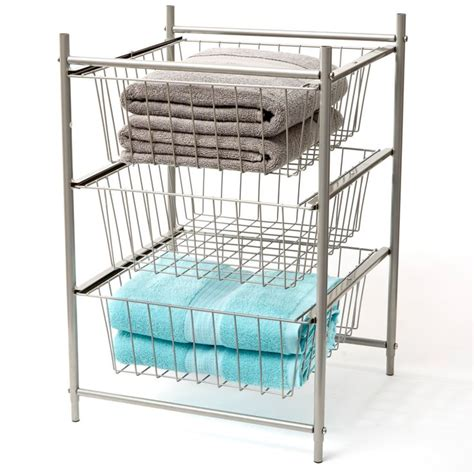 stackable wire shelves stackable space saving this vertical wire shelf