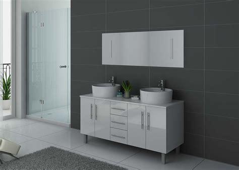 porte de meuble de salle de bain sur mesure meuble de salle de bain blanc 2 vasques meuble de salle