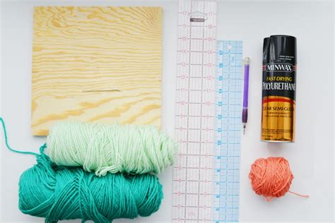 String Materials - diy pegboard string