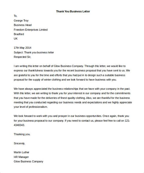 Business Letter Template In Word Business Letter Template 44 Free Word Pdf Documents
