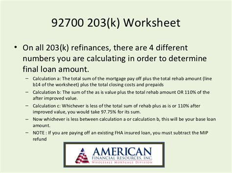 Fha Max Loan Amount Worksheet by Fha Streamline Calculation Worksheet Worksheets
