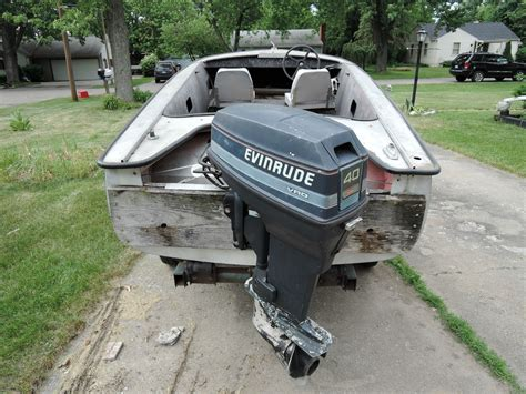 used crestliner boats for sale in michigan crestliner flying crest 1958 for sale for 4 500 boats