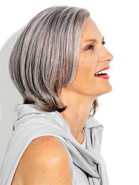 Grey Bob Hairstyles by 14 Hairstyles For Gray Hair Hairstyles 2017