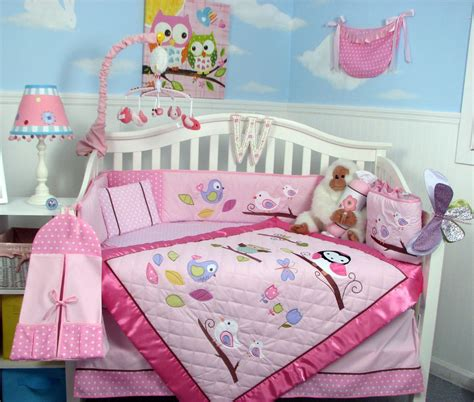 soho owls meadowland crib bedding collection baby