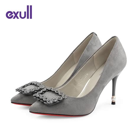 aliexpress ladies shoes exull brand extreme high heels sexy luxury pumps new