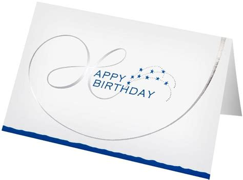 Corporate Birthday Card Design