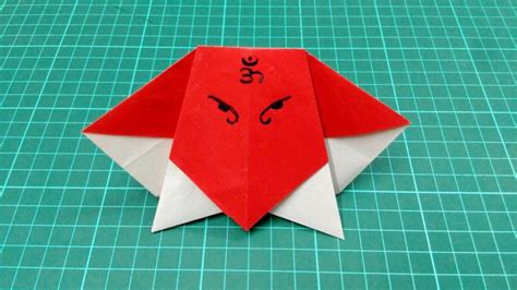 How To Make Origami Craft - free coloring pages how to make origami paper boy