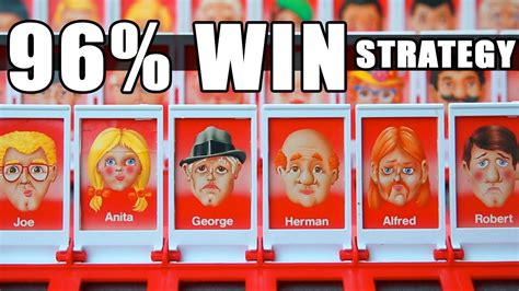 Guess Who by Best Guess Who Strategy 96 Win Record Using Math
