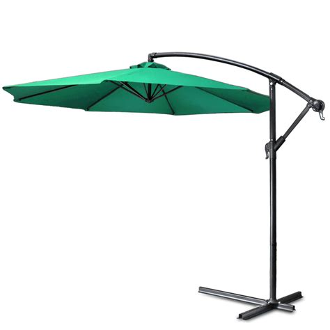 10 Ft Offset Patio Umbrella Ce Compass Hag Umbl 10ft Grn 10 Ft Patio Umbrella Offset Hanging Folding Sun Shade Cantilever W