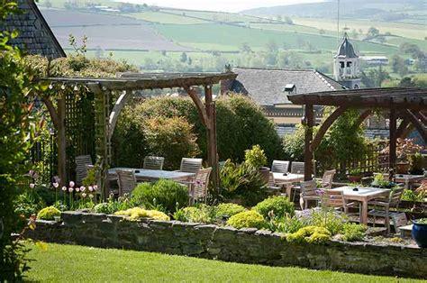 Garden Of Hotel Hotel Gardens Bishops Castle Shropshire The Castle Hotel