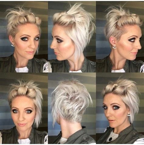 how to style a grown out asymettrical pin by ashlee massey on hair pinterest my hair