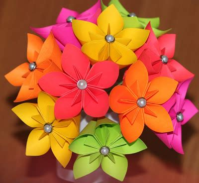Easy To Make Origami Flowers - make easy origami flowers
