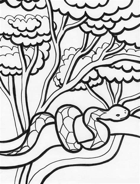 jungle snake coloring page 91 snake coloring pages online printable snake