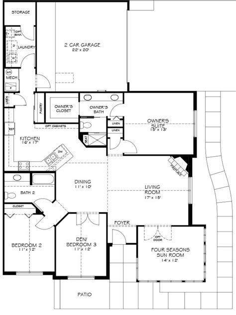 epcon canterbury floor plan canterbury models the villas at canandaigua epcon