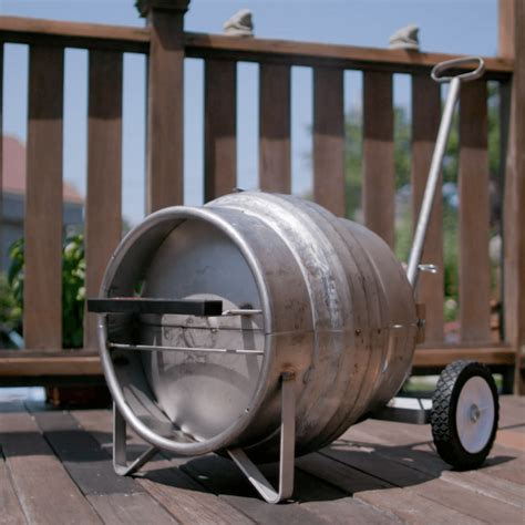 coors light pony keg beer keg grill upcycle that