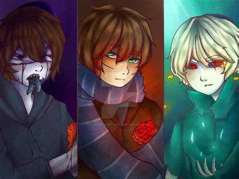 anime wallpaper yunying liu eyeless jack ben drowned and homicidal liu by cross