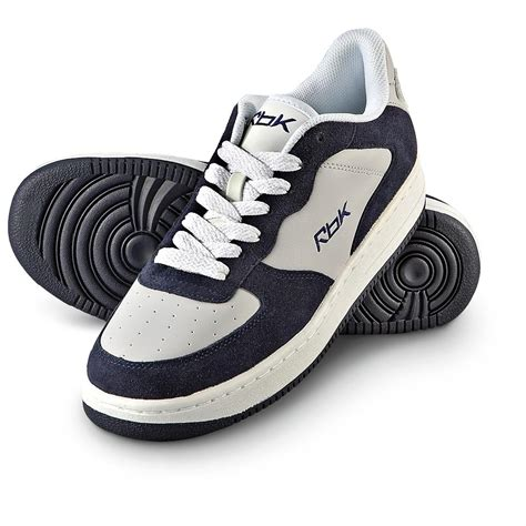 navy athletic shoes s reebok lottery hoops athletic shoes gray navy