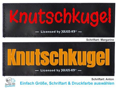K9 Aufkleber Selbst Gestalten by Julius K9 Wunschlogo Julius K9 Wunschlogos Tierisch