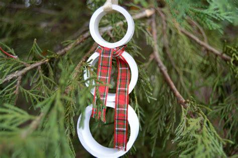 pvc snowman ornaments simple diy christmas ornaments